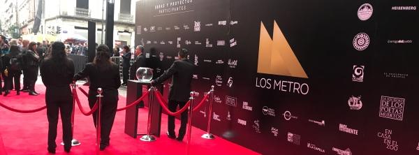 Alfombra roja de los Premios Metropolitanos de Teatro