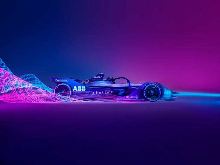 Automóvil Gen2 de la Fórmula E