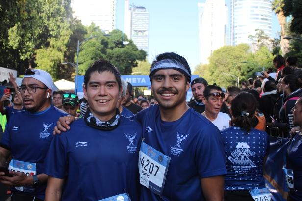 Luis Jonathan Rosas Ramos y Vinicio Emiliano Núñez Martínez