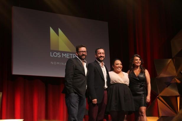 Sergio Villegas, Chumel Torres, Michelle Rodríguez y Mariana Garza
