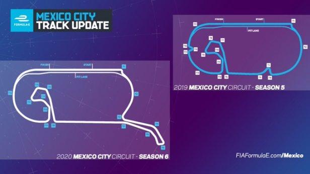 Actualización de la pista de la Ciudad de México | Foto: LAT/Formula E