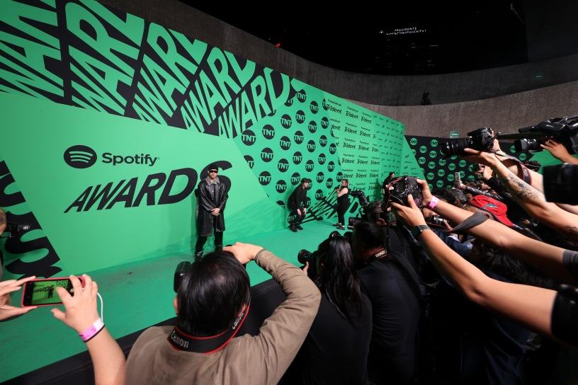 Emociones al límite en los #SpotifyAwards