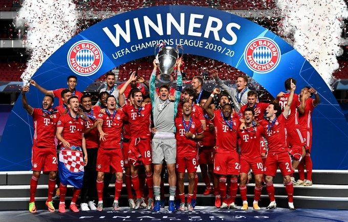 FC Bayern München, campeón de la UEFA Champions League