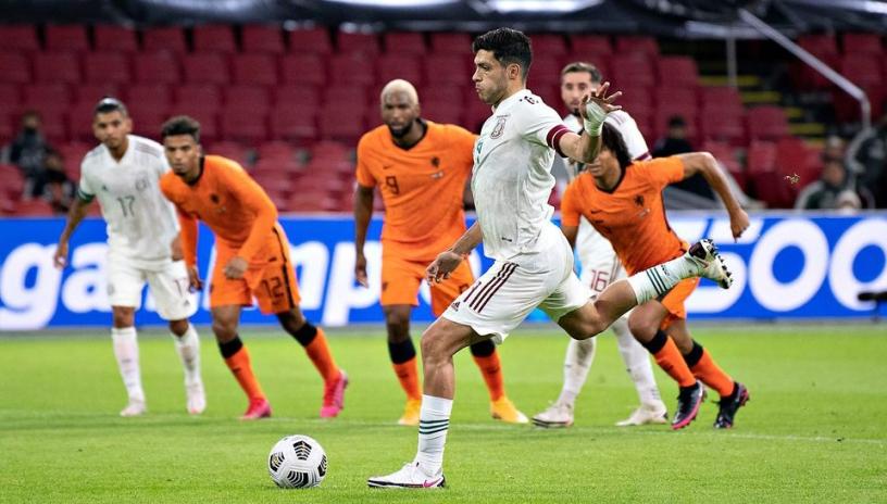 El Tri sorprende en la Johan Cruyff Arena