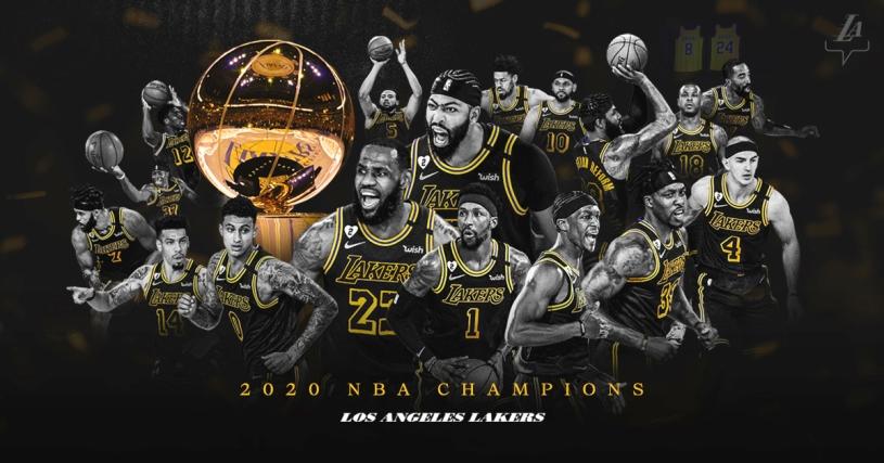 Los Lakers conquistan la NBA tras una década