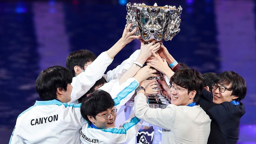 DAMWON Gaming, Campeón de Worlds 2020